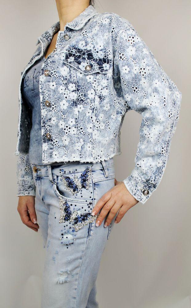 Джинсова куртка Dishe Jeans - Senstyle.com.ua-інтернет-магазин ... cdf44058c031f